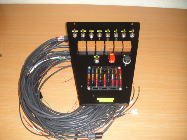 aircraft spec wiring harness for motorsport