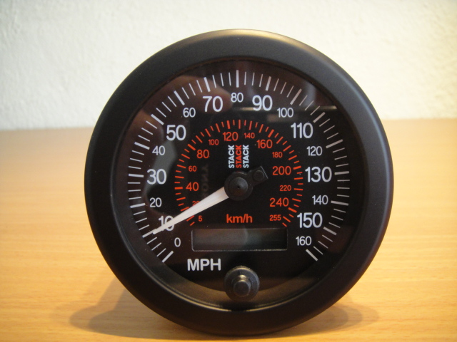 stack professional speedometer