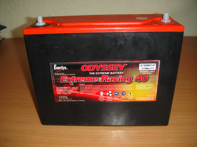 red top 40 racing battery
